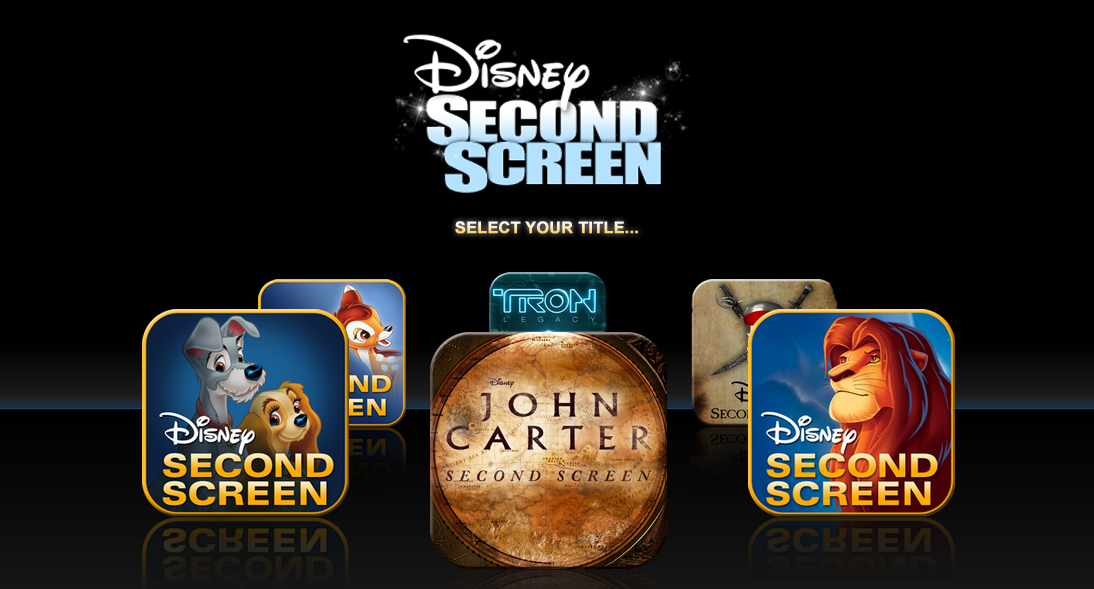 Making TV-Kids more social - Disney Second Screen Application