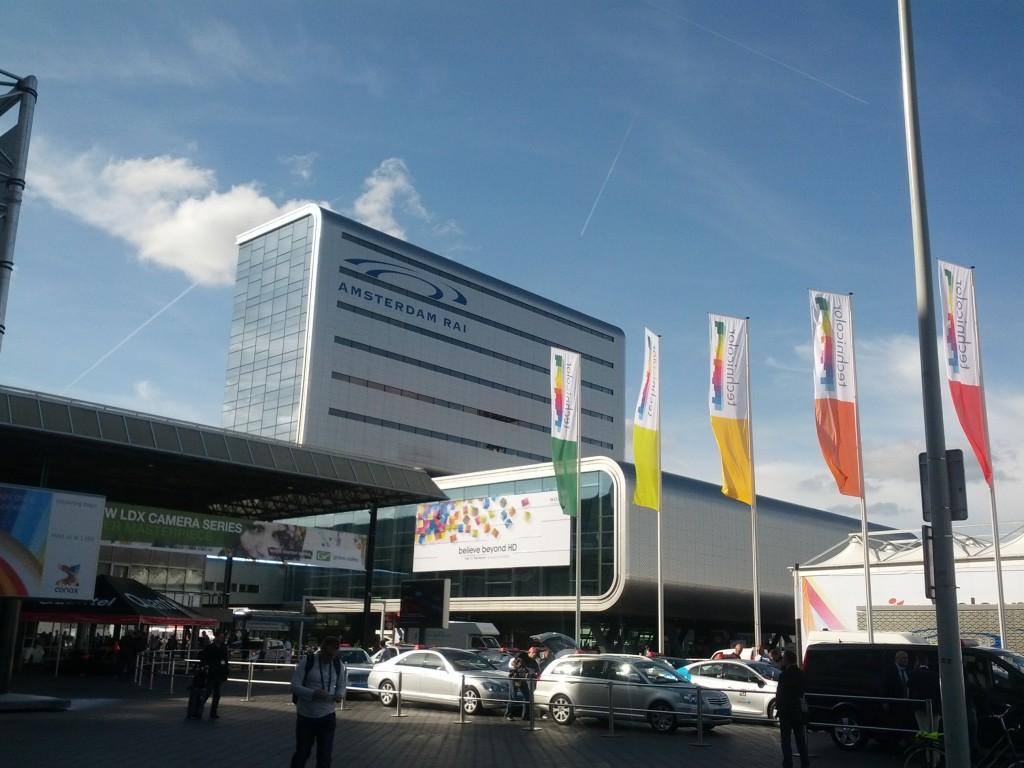 IBC 2012 Amsterdam Entrance