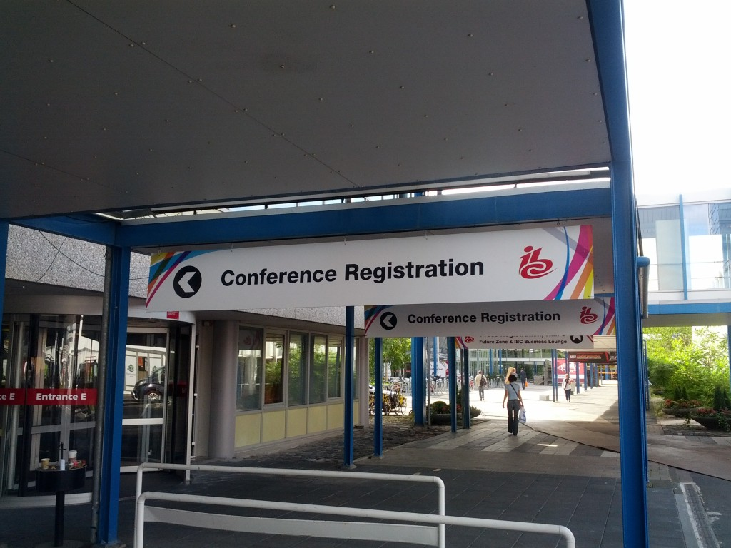 Conference Registration IBC 2012 Amsterdam