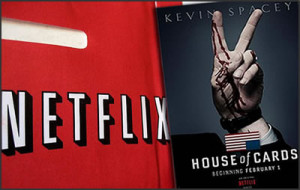 House of Cards series - Netflix