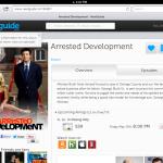 Set Reminder Arrested Development - Nextguide.tv Website